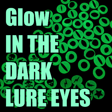 Glow In The Dark Jettson Lure Eyes