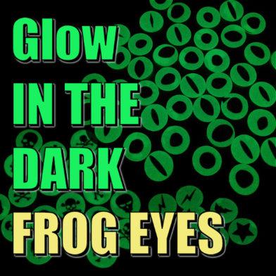 Glow In The Dark Frog Eyes