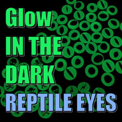 Glow In The Dark Reptile Eyes