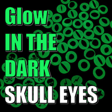 Glow In The Dark Skull Eyes